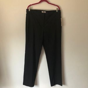 Nanette Lepore Very Black Straight Leg Trousers
